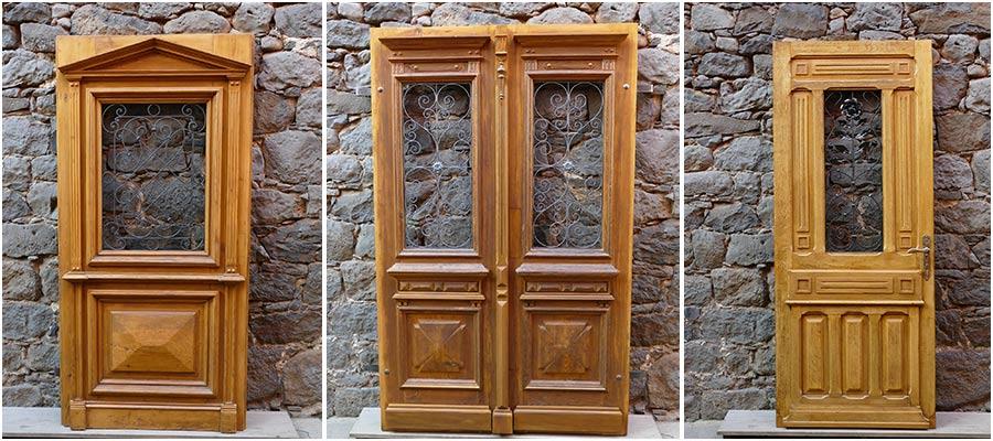 Bau-Antik - Original antike Baustoffe und historische Haustüren